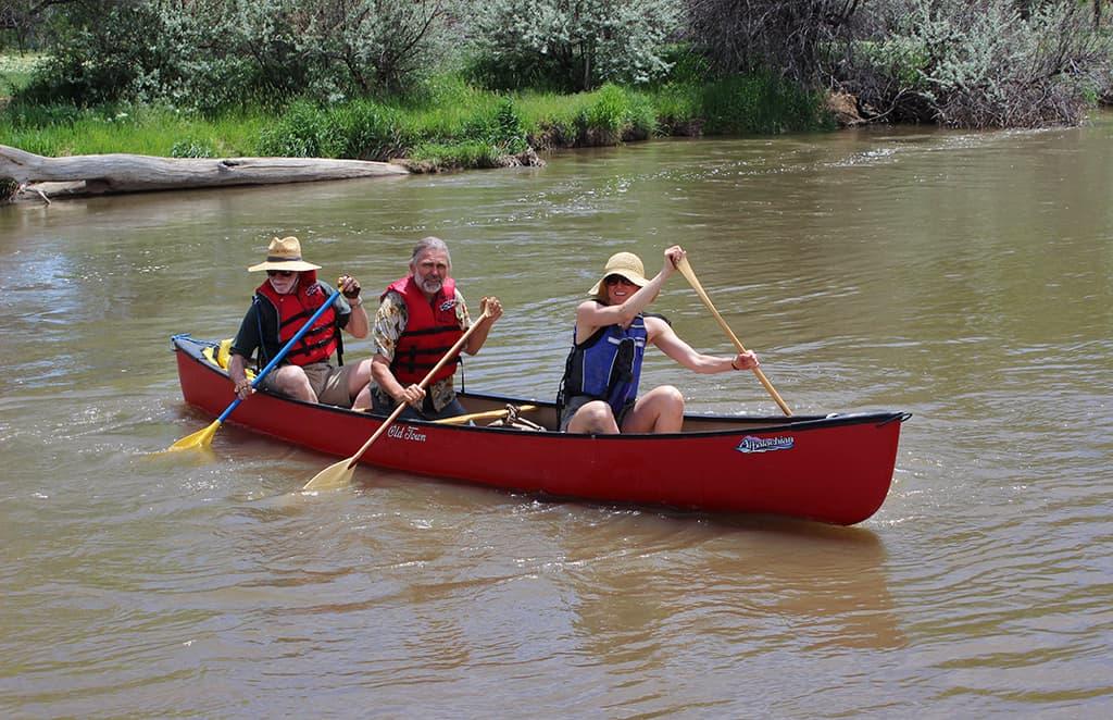 Canoeing-Boulder